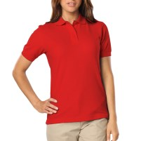 Ladies BG 6500 Polo Shirt with Left Chest logo and name