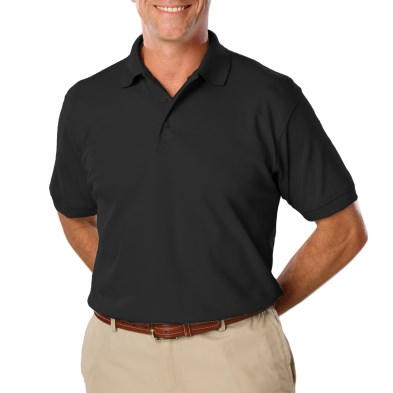Men's Polo Shirt -  with Left Chest Logo and Name